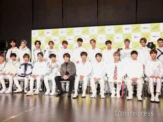 日韓アイドル育成プロジェクト「G-EGG」参加者勢揃い ドーム目標に掲げる