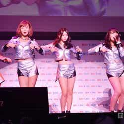 モデルプレス - ℃-ute、美脚×へそ出しで新曲「Love take it all」パフォーマンス