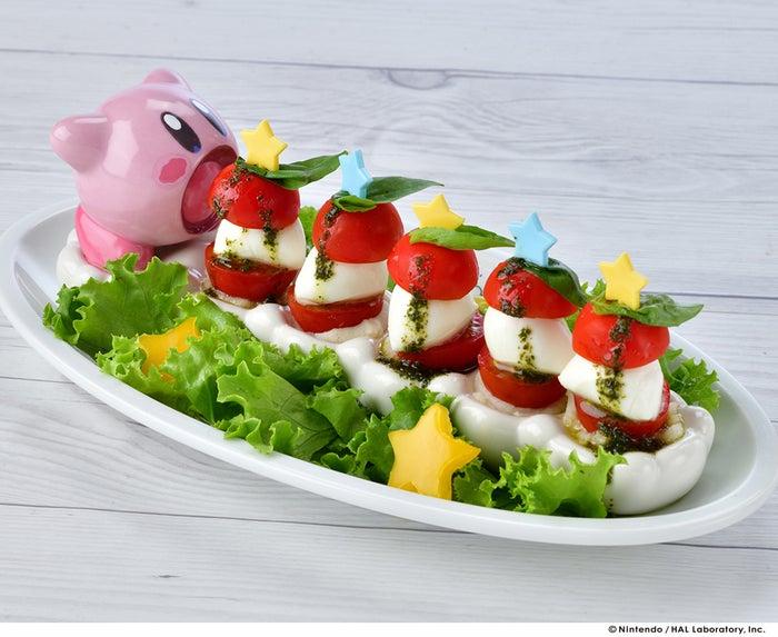 カービィのすいこみカプレーゼ1,380円(税別)(提供写真)
