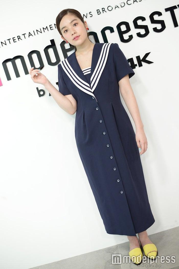 マリンな私服もキュート!カラー使いがポイント/筧美和子(C)モデルプレス