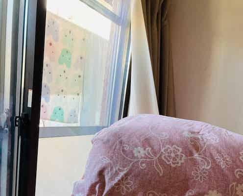 ノッチの妻、朝の寒さに限界を感じて冬支度「汗だくで作業しています」