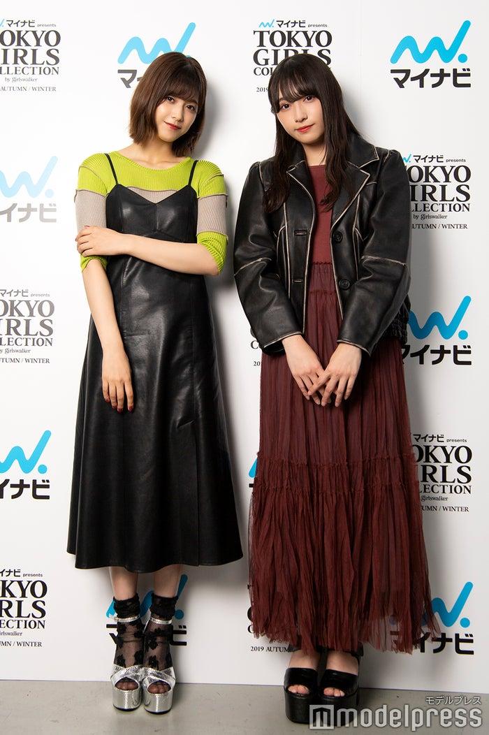 渡邉理佐&渡辺梨加(C)モデルプレス