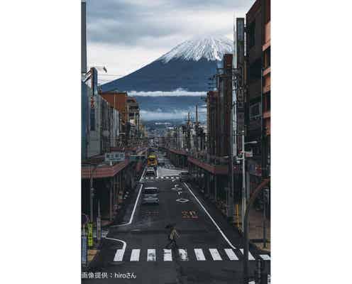 まるで芸術作品のような富士山が話題 「この角度で撮影するのはすごい…」