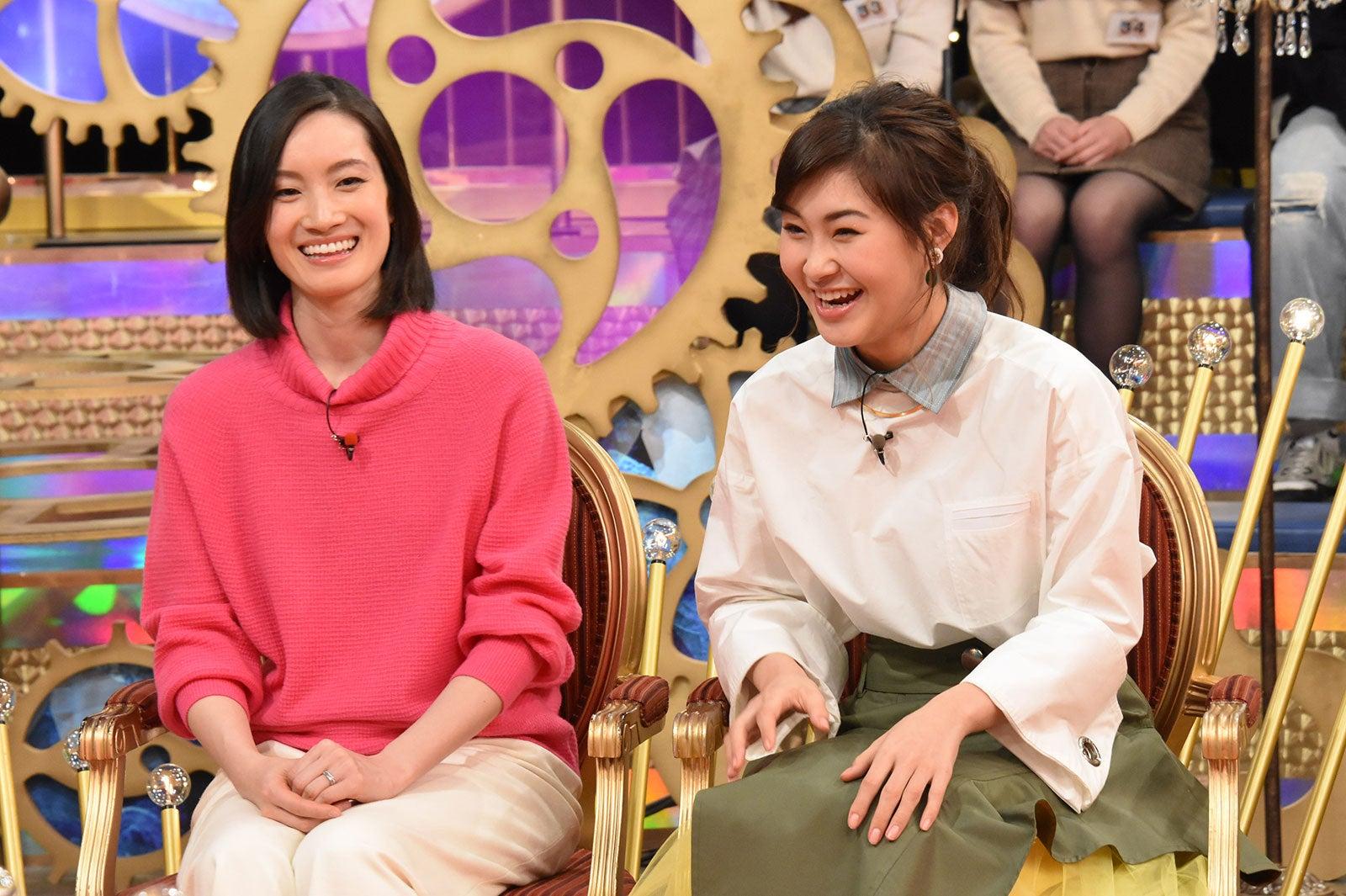 荒川静香、村上佳菜子(C)日本テレビ