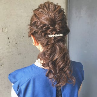 【レングス別】簡単ポニーテールヘアアレンジ♡普段使いしやすい◎