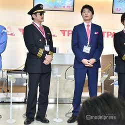 戸次重幸、吉田鋼太郎、田中圭、サングラスをかけてボケた千葉雄大 (C)モデルプレス