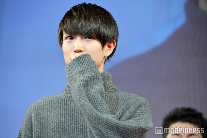 「第30回 ジュノン・スーパーボーイ・コンテスト」グランプリの綱啓永さん (C)モデルプレス