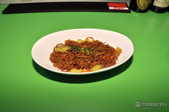 「ガングロイケ麺(焼きそば)」