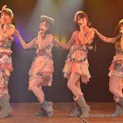 下口ひなな、倉野尾成美、小田えりな、武藤小麟/AKB48込山チームK「RESET」公演(C)モデルプレス