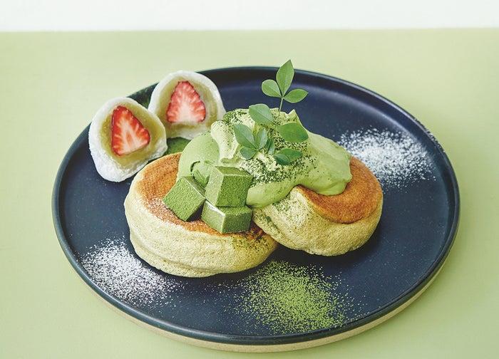 奇跡のパンケーキ 宇治抹茶づくし1,300円/画像提供:フレーバーワークス