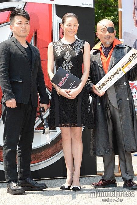 (左から)宮迫博之、米倉涼子、竹中直人