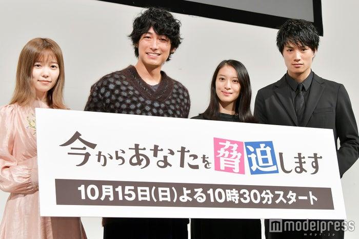島崎遥香、ディーン・フジオカ、武井咲、鈴木伸之(C)モデルプレス