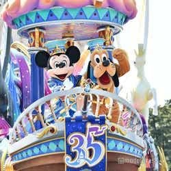 """モデルプレス - ディズニー35周年""""Happiest Celebration!""""昼のパレード初お披露目<ドリーミング・アップ!>"""