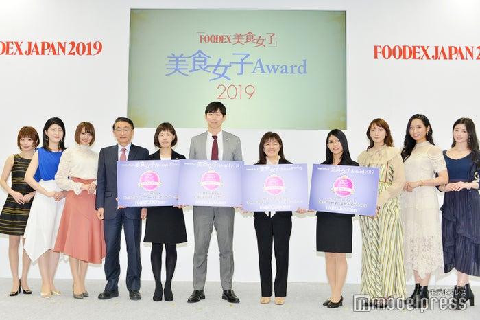 「FOODEX美食女子Award 2019」グランプリ表彰式の様子 (C)モデルプレス