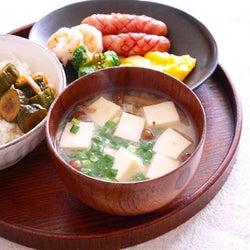 ヘルシーで栄養バッチリな味噌汁のダイエットレシピ!具材を変えて満腹感もアップ
