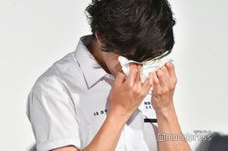 山田裕貴、男泣き(C)モデルプレス