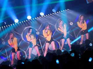 """日本デビューの""""SEXY女神""""EXID、ソルジ復帰""""5人完全体""""で圧巻ステージ"""