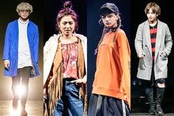 「FASHION LEADERS real5」に出演した(左から)山田親太朗、今井華、池田美優、中島健(C)FASHION LEADERS