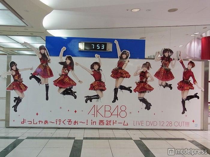 AKB48話題の広告「梅田商業施設付近地下道」