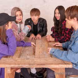 lol(左から)honoka、hibiki、友祐、moca、直人(C)モデルプレス