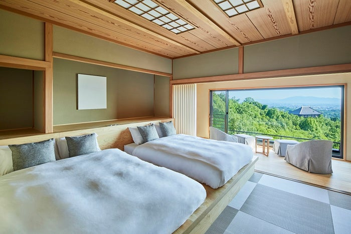 ANDO HOTEL 奈良若草山/画像提供:ディライト