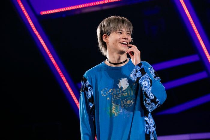 カイ/「BULLET TRAIN Arena Tour 2018 GOLDEN EPOCH at OSAKA-JO HALL」より(画像提供:SDR)