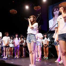卒業を発表した指原莉乃「HKT48コンサート in 東京ドームシティホール~今こそ団結!ガンガン行くぜ8年目!~」(C)AKS
