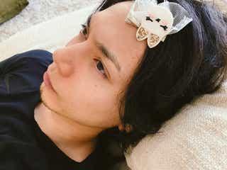 水嶋ヒロ、妻・絢香&娘からのいたずらが可愛すぎ「癒やされた」の声続々