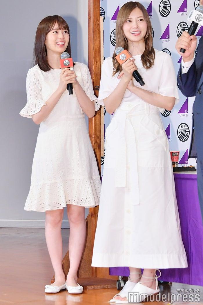 生田絵梨花、白石麻衣 (C)モデルプレス