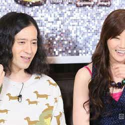 左から:又吉直樹(ピース)、観月ありさ/画像提供:関西テレビ
