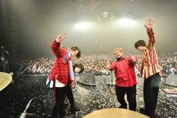 新木場スタジオコーストで『10th anniversary SPECIAL LIVE』を行ったLEGO BIG MORL 写真:橋本塁(SOUND SHOOTER)