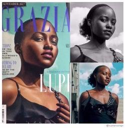 オスカー受賞の黒人女優、髪を加工され抗議「無意識の偏見」<ルピタ・ニョンゴ>