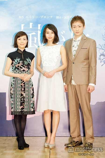 (左から)戸田恵子、堀北真希、山本耕史