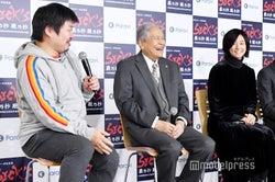 植田博樹プロデューサー、竜雷太、木村文乃(C)モデルプレス
