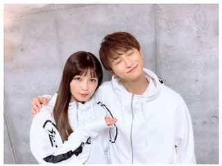 AAA宇野実彩子、與真司郎に「もっと惚れたっ」ソロライブ後の2ショットに「待ってました」の声