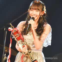 優勝した野島樺乃「AKB48グループ歌唱力No.1決定戦」決勝大会 (C)モデルプレス