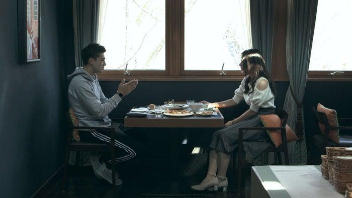 ノア、麻由「TERRACE HOUSE OPENING NEW DOORS」22nd WEEK(C)フジテレビ/イースト・エンタテインメント