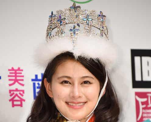 「2016ミス日本」20歳の女子大生がグランプリ 驚きと涙の栄冠