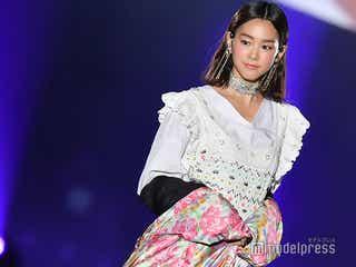 桐谷美玲、綺羅びやかアクセで輝き放つ「TGC熊本2019」で存在感
