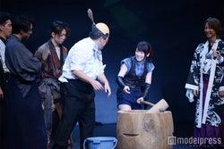 餅つきコーナー/川栄李奈(C)モデルプレス