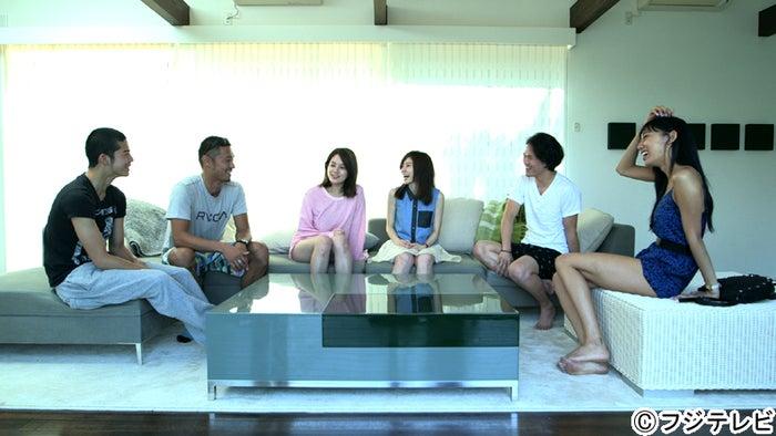 テラスハウス、放送日時を変更/写真は現メンバー(左から)菅谷哲也、今井洋介、筧美和子、住岡梨奈、宮城大樹、武智ミドリ