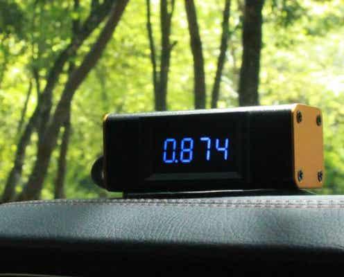 居眠り運転を事前に防ぐ!CO2濃度を測定し、3密回避、車酔い対策にもなるスグレモノ