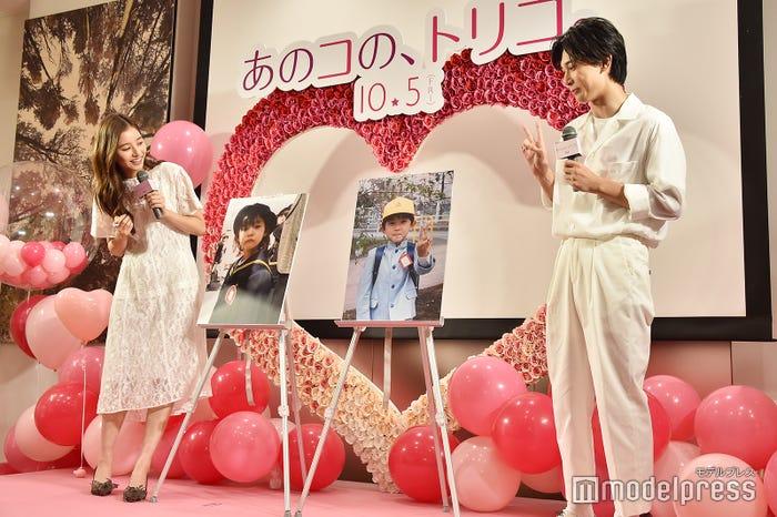 吉沢亮と新木優子、「初恋」をした時の幼少期写真 (C)モデルプレス