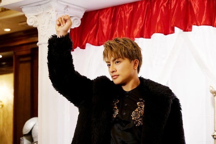 白濱亜嵐(C)2020「PRINCE OF LEGEND」製作委員会