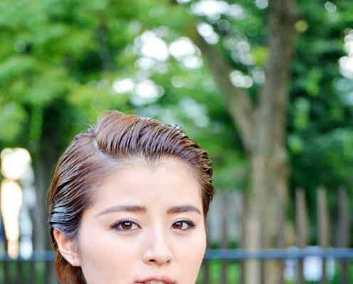 鈴木ちなみ、男前メイクで新たな魅力開花 モデルプレスインタビュー
