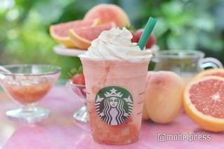 スタバ、夏の新フラペチーノは爽やかフルーティー ピンクの見た目も可愛い!<試飲レポ>