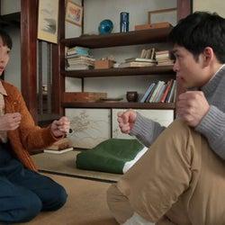 松下洸平演じる八郎、喜美子を抱き寄せるも常治に目撃され…『スカーレット』第11週