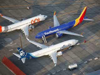 ボーイング、主力機の生産を再開 737MAX、1月から停止