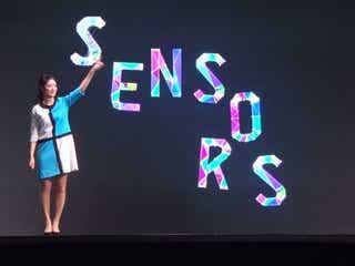 畑下由佳アナ、手からビームを発射!? 3DCGホログラフィック劇場を体験『SENSORS』