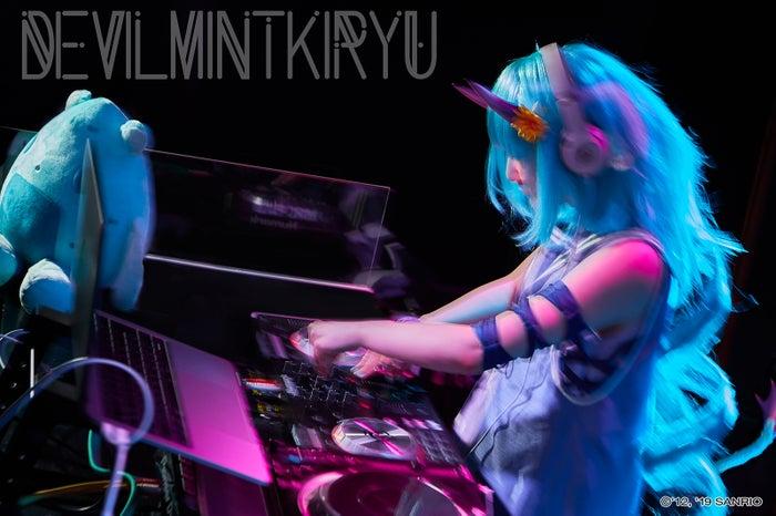 DJ DEVILMINTKIRYU(C)1976,2009 SANRIO CO.,LTD.(C)1976,1990,1993,1996,2001,2005,2019 SANRIO CO.,LTD.